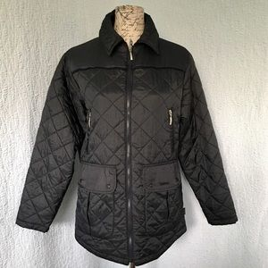 Barbour Navy Flyweight Quilting Sport Jacket